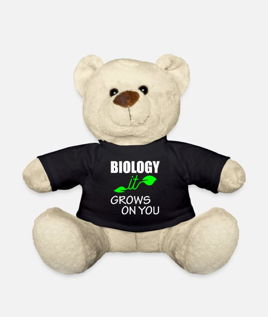 Studies Teddy Bear Toys - Biology - it grows on you - Teddy Bear black