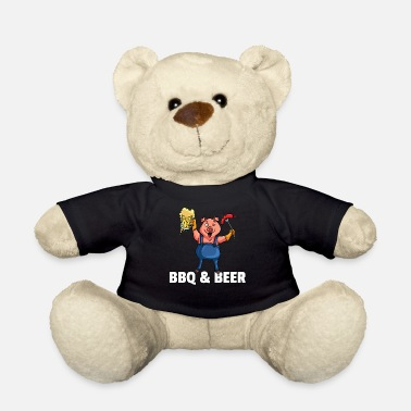 Grillmaster BBQ Barbeque Barbecue Grill Master Pig - Teddy Bear