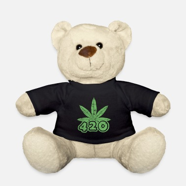 Cannabisblad 420 cannabisblad - Teddybeer
