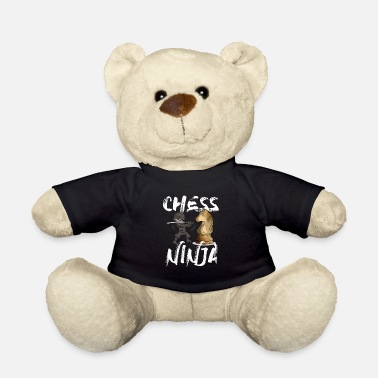 Chess Ninja Knight Jumper Chess Board Game Gift - Teddy Bear