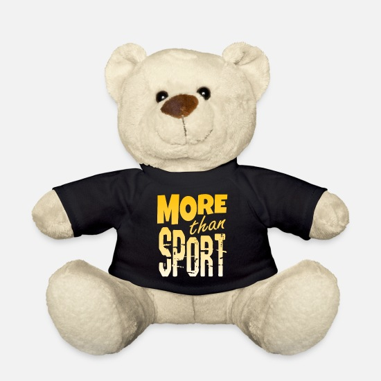 Gift Idea Teddy Bear Toys - More Than Sport Extreme Extreme Sports Sport - Teddy Bear black