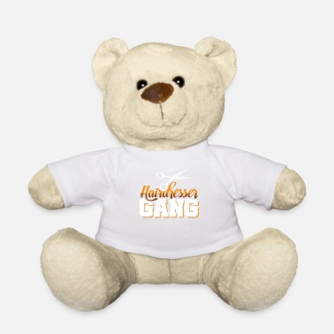 Hairdressing Salon Hairdresser gang hairdressing team salon hairdresser - Teddy Bear