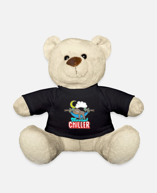 Chiller Teddy Bear Toys - Serial chiller - Teddy Bear black