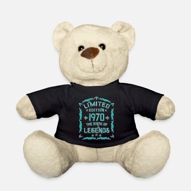 50th Birthday Mens Born In 1970 Born in 1970 - 50th birthday gift - Teddy Bear