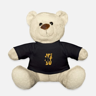 Sports Jiuu-Jitsu Silhuette in the name - Teddy Bear
