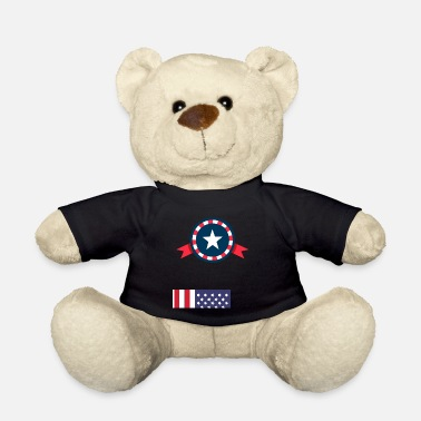 Guns USA 4th of July Constitution American Patriot Gift - Teddy Bear