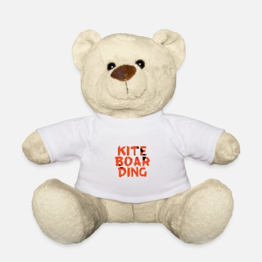 Kite Boarding Kite boarding silhuette in name - Teddy Bear