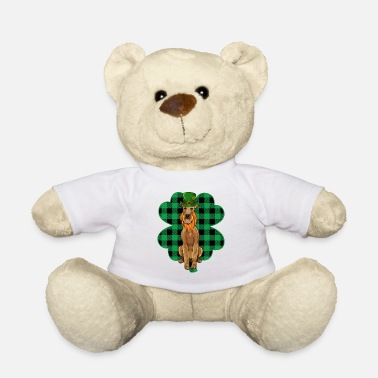 Pointer Leprechaun St Patricks Day Lucky Clover - Teddybeer