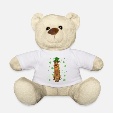 St Patricks Day Pointer Dog Shamrock Gift - Teddybeer
