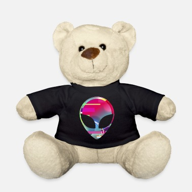 Rave Sjovt Alien Rave Disco Alien Dance Rave Gavedesign - Bamse