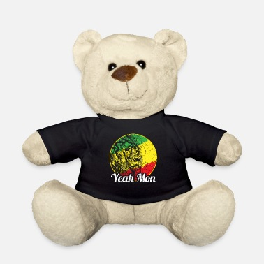Palm Trees Jamaica Caribbean Vacation Jamaica Rasta Reagge - Teddy Bear
