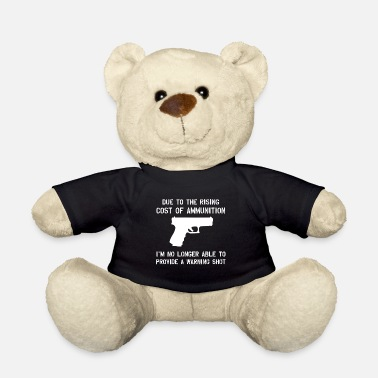 Revolver Shooting pistol rifle weapon hunting chasing shooting - Teddy Bear