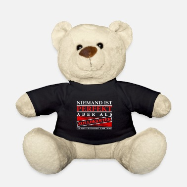 Customs Office Customs Customs officer gift customs office - Teddy Bear