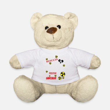 Radiology XRay Tech My Text Results Came Back - Teddy Bear