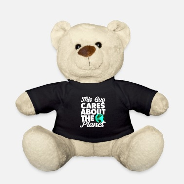 Earth Hour Environment Climate Protection Tree Earth Day Gift - Teddy Bear