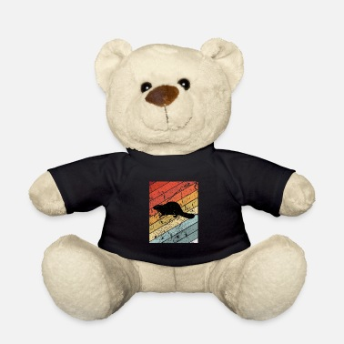 Wilderness Retro Beaver Animal Gift - Teddy Bear