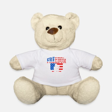 Us Military USA military US freedom gift - Teddy Bear