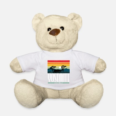 Helped Dome Yosemite National Park California Bear Gift - Teddy Bear