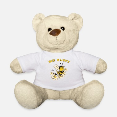 Bee Happy Cute Bee For Kids For Women For Men Be H - Teddy Bear
