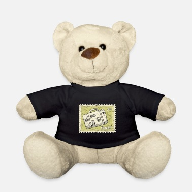 Stamp Collecting Traveler stamp collection - Teddy Bear