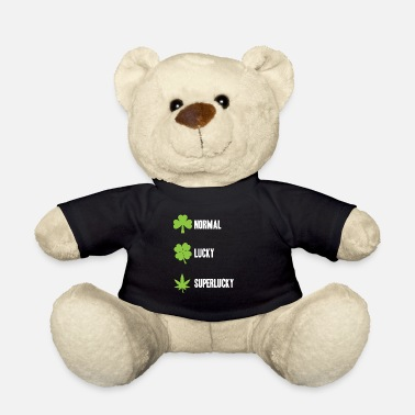 normal lucky superlucky weed hemp gift shirt - Teddy Bear