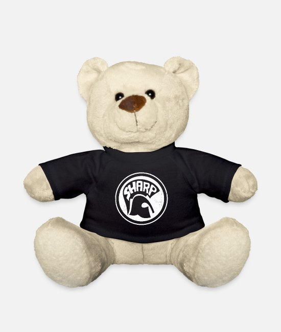 Ska Punk Teddy Bear Toys - SHARP - SHARP - Teddy Bear black