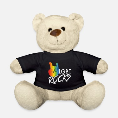 Lgbt LGBT rocks - Teddy Bear