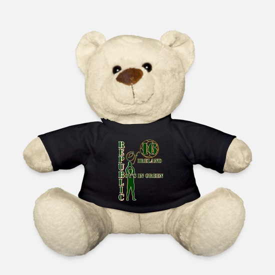 France Teddy Bear Toys - Republic of Ireland boys - Teddy Bear black
