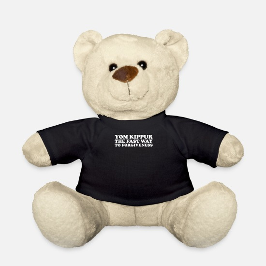 Yom Kippur Teddy Bear Toys - Yom Kippur - Teddy Bear black