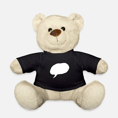 Speech Bubble speech bubble - Teddy Bear