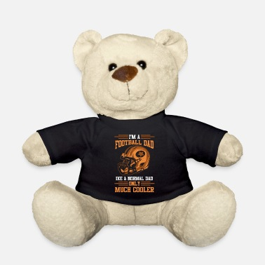 Quarterback American Football Papa Papa Father's Day Gift - Teddy Bear