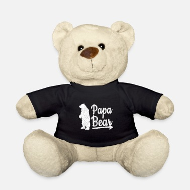 Papa Bear Shirt Retro - Teddybär
