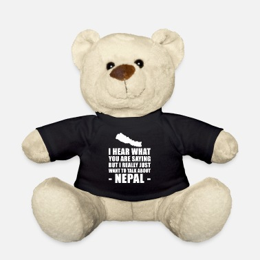 Nepal Funny Nepal holiday gift idea - Teddy Bear
