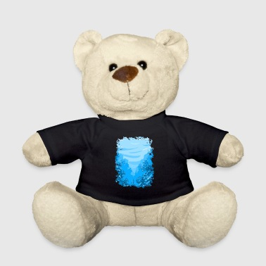 underwater aquarium sea ocean lake coral reef - Teddy Bear