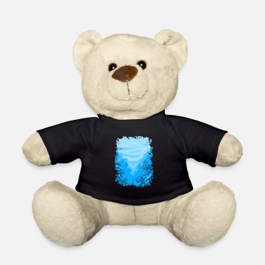Coral Reef underwater aquarium sea ocean lake coral reef - Teddy Bear