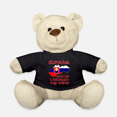 Slovakia Slovakia - Slovakia is in me - Teddy Bear