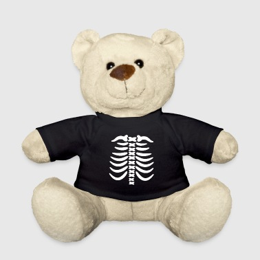 Skeleton Costume Carnival Shirt Gift - Teddy Bear