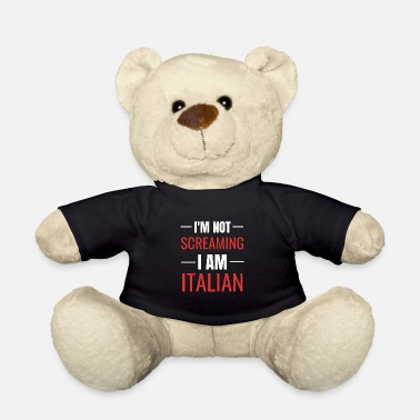 Italian Italian joke - gift idea for Italians - Teddy Bear