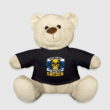Stockholm Sweden skull and crossbones t-shirt gift gift shirt - Teddy Bear