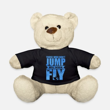 Skydiving Skydiving - Teddy Bear