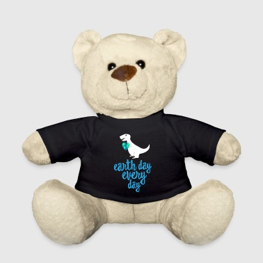 Recycling Earth Day Every Day - Cute Earth Day Shirt Recycle TRex - Teddy Bear