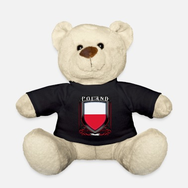 Grandpa Polish coat of arms | Poland's home country gift - Teddy Bear