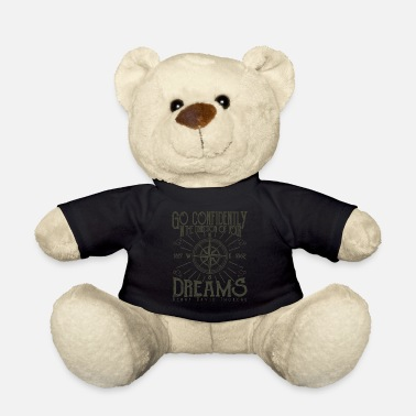 Henry Inspirational Quote Go Confidently Encouraging - Teddy Bear