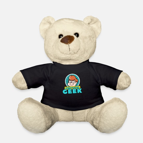 Progamer Teddy Bear Toys - Geek - Teddy Bear black