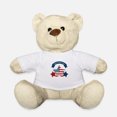 Independence Day Independence Day - Independence Day Gift - Teddy Bear