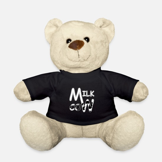 Gift Idea Teddy Bear Toys - Milk cow, milk cow - Teddy Bear black