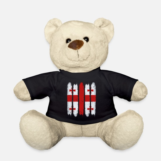 National Colours Teddy Bear Toys - Georgia - Teddy Bear black