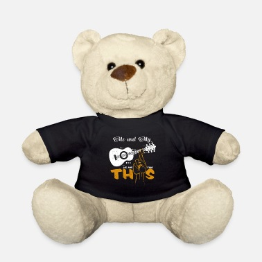 Guitar Player Guitarist statement guitars sayings gift - Teddy Bear