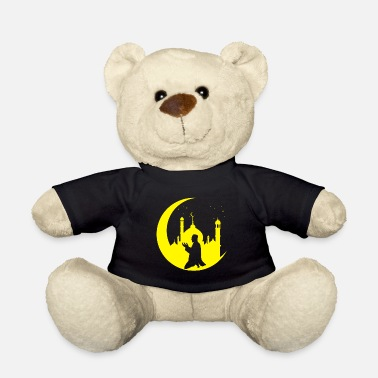 Quran Prayer Crescent Islam Muslim Religion - Teddy Bear