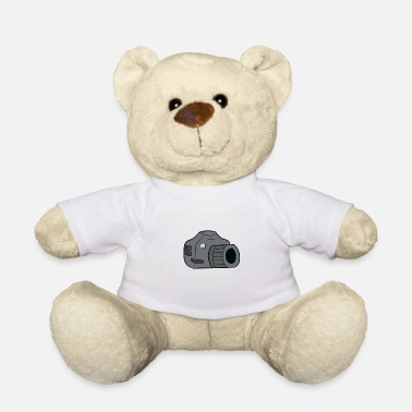 Slr Photographer - camera, SLR - Teddy Bear